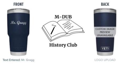 history club yeti